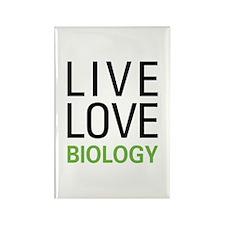 Live Love Biology Rectangle Magnet (10 pack)