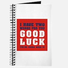 Good luck Journal