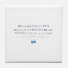 palm beach Tile Coaster