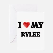 I love my Rylee Greeting Cards