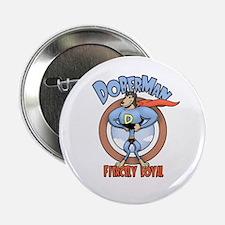 """DoberMan 2.25"""" Button (10 pack)"""