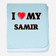 I love my Samir baby blanket