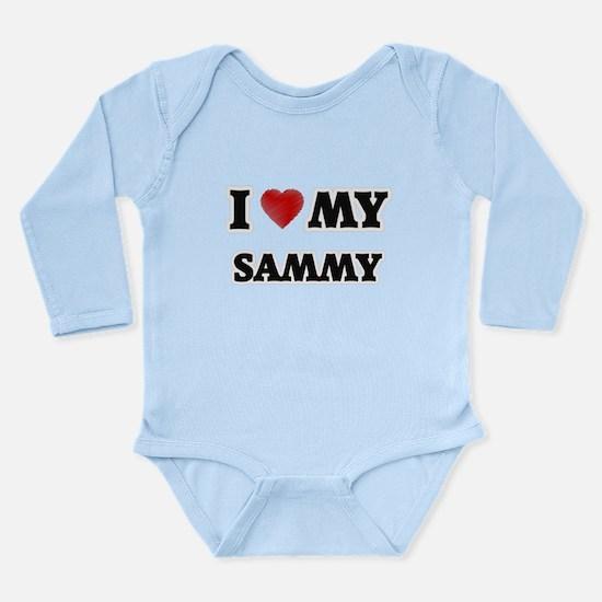 I love my Sammy Body Suit