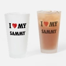 I love my Sammy Drinking Glass