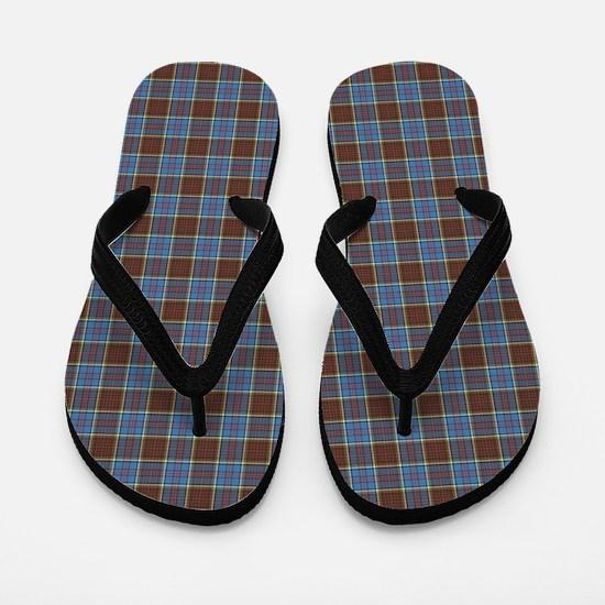 Anderson Tartan Flip Flops