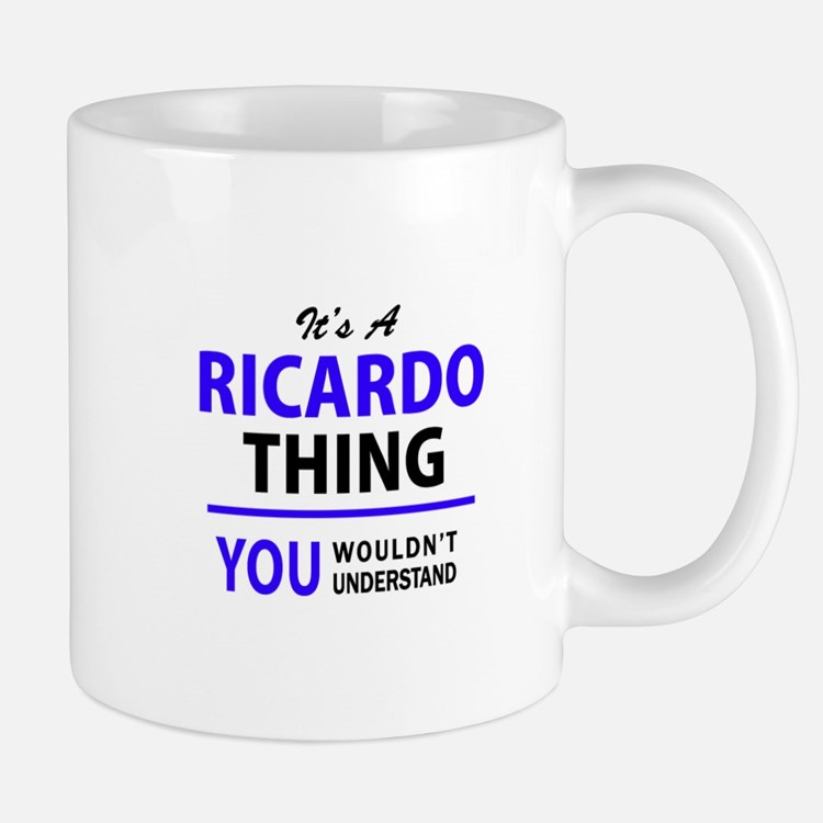 It's RICARDO thing, you wouldn't understand Mugs