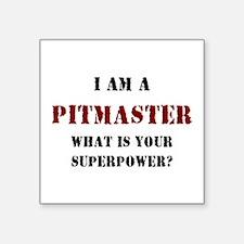 """pitmaster Square Sticker 3"""" x 3"""""""