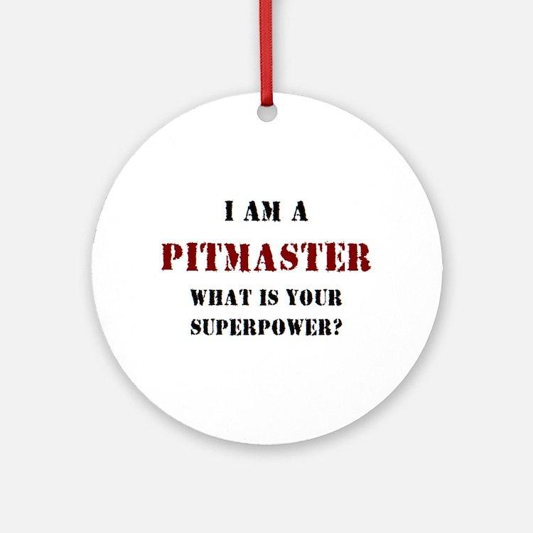 pitmaster Round Ornament