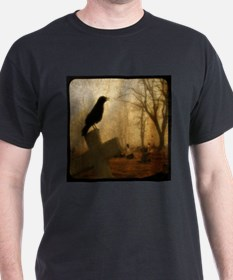 Crow On Cross T-Shirt