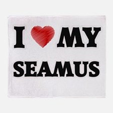 I love my Seamus Throw Blanket