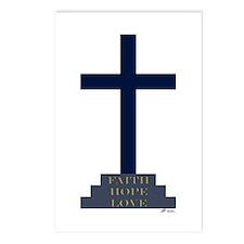 Calvary Cross Postcards (Package of 8)