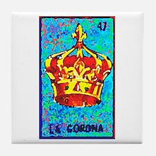 La Corona Tile Coaster