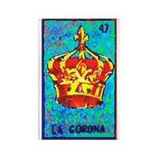 La Corona Rectangle Magnet