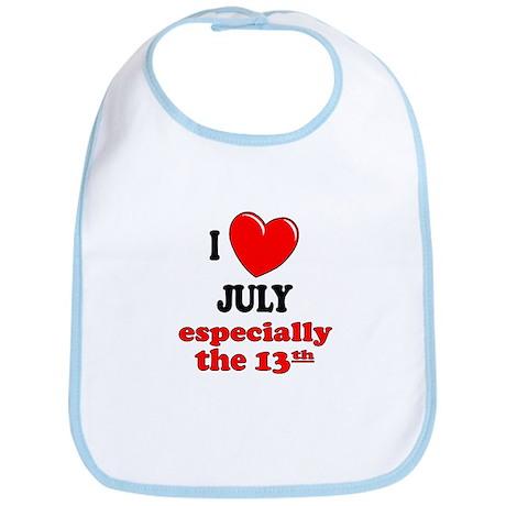 July 13th Bib