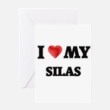 I love my Silas Greeting Cards