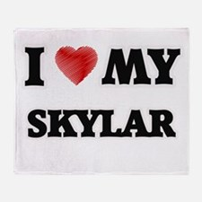 I love my Skylar Throw Blanket