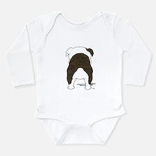 BrindleBulldogShirtBack Body Suit