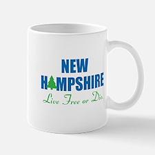 NEW HAMPSHIRE - LIVE FREE OR DIE Mug