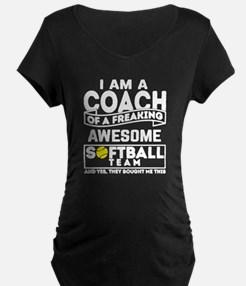 Unique Softball coach T-Shirt