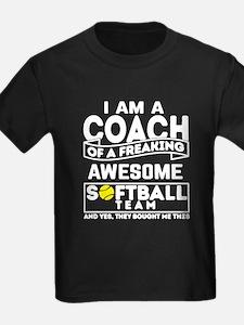 Proud Softball Coach T-Shirt