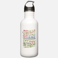 Unique Alcoholics anonymous recovery Water Bottle