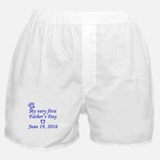 First Father's Day 2016 Boxer Shorts