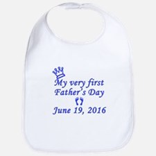 First Father's Day 2016 Bib