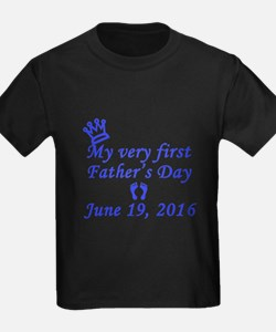 First Father's Day 2016 T-Shirt