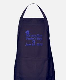 First Father's Day 2016 Apron (dark)