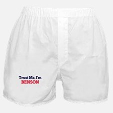 Trust Me, I'm Benson Boxer Shorts