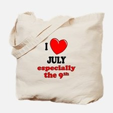 July 9th Tote Bag