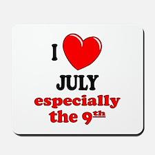 July 9th Mousepad