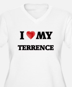 I love my Terrence Plus Size T-Shirt