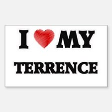 I love my Terrence Decal