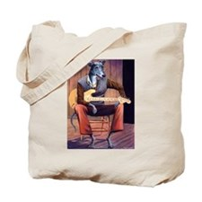 Blues Hound Tote Bag