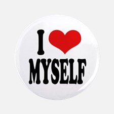 """I Love Myself 3.5"""" Button (100 pack)"""