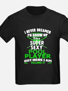 Sexy Pool Player T-Shirt
