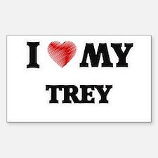 I love my Trey Decal