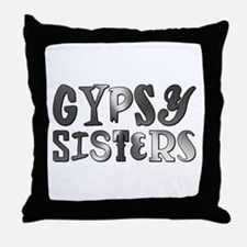GYPSY SISTERS Throw Pillow
