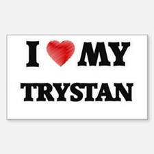 I love my Trystan Decal