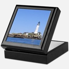 Boston Lighthouse #2 Keepsake Box