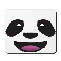 Panda Face Mousepad