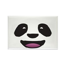 Panda Face Rectangle Magnet