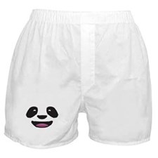 Panda Face Boxer Shorts