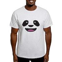 Panda Face Light T-Shirt