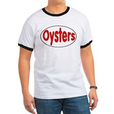 Oysters Oval Sticker T