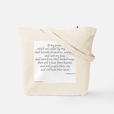 Freedom Cross w/ Scripture Tote Bag