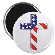 Freedom Cross Magnet