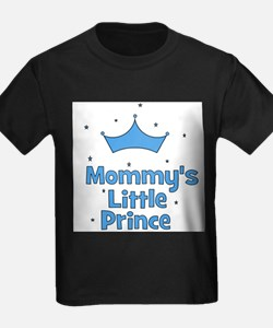 Mommy's Little Prince w/ Crow Kids T-Shirt