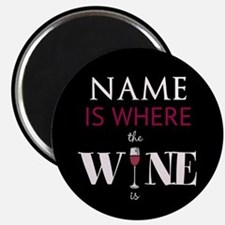 Personalized - Wine* Magnets